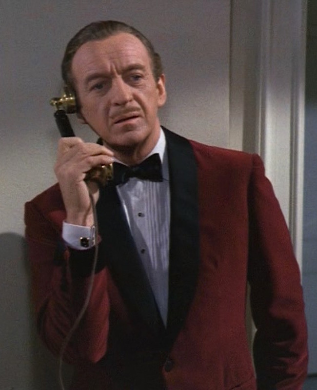 David Niven Pink Panther Black Tie | BAM...