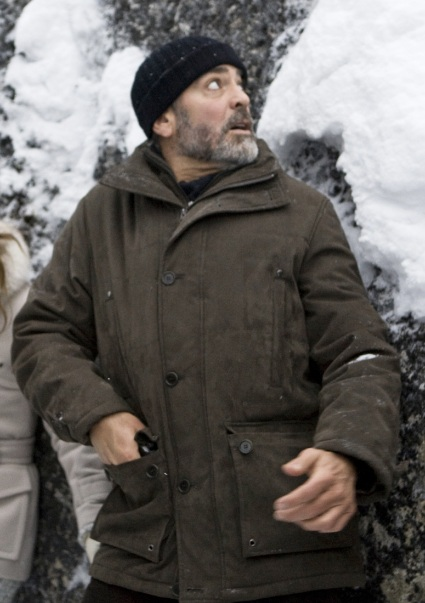 George Clooney as Jack in The American (2010).