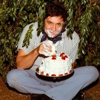 Even Johnny Cash celebrated with birthday cake!