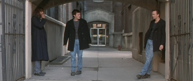 In fact, The Boondock Saints averts the badass longcoat trope by placing its dopiest lead character in a long overcoat.
