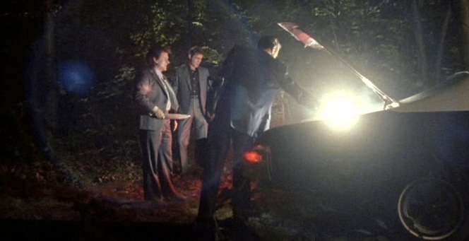 Henry's suit is illuminated as Jimmy takes care of the Billy Batts situation.