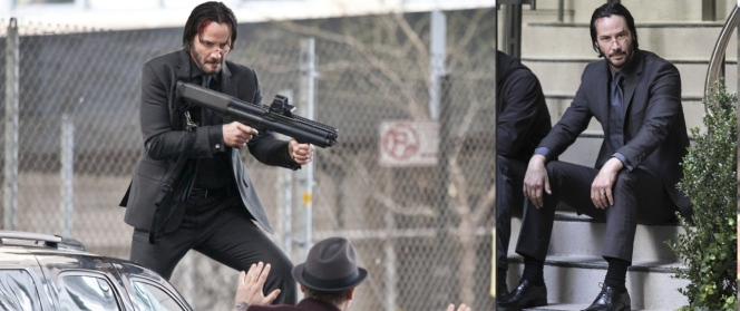 Some set photos help illustrate everything you ever wanted to know about John Wick's pants.