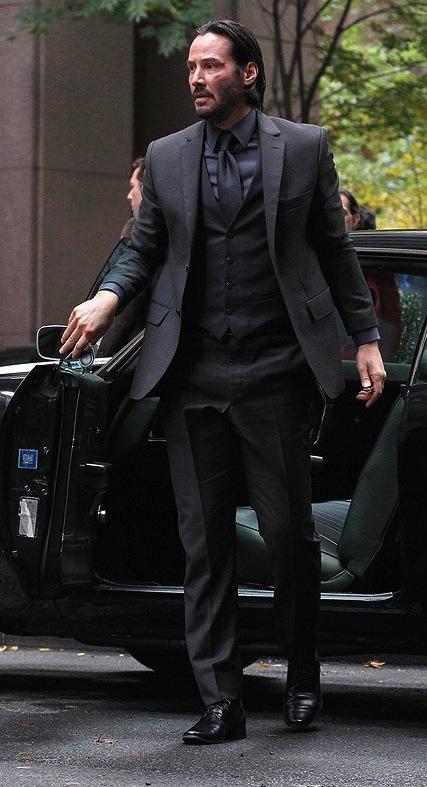 Keanu Reeves As John Wick In 2014