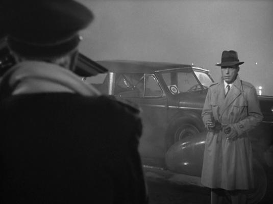 Bogart takes on the Nazis.