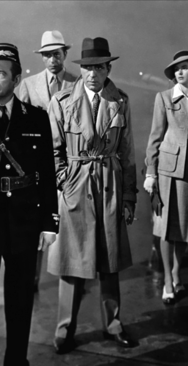 Bogart S Trench Coat And Suit In Casablanca Bamf Style