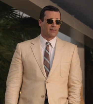 Jon Hamm as Don Draper in