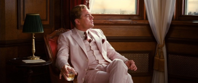 Even his detractors must admit that DiCaprio looks every bit the Fitzgeraldian romantic hero.