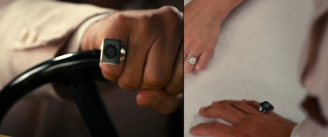 Gatsby's magic ring.