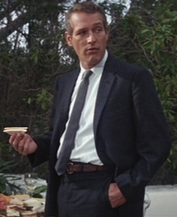 Paul Newman as Lew Harper in Harper (1966).