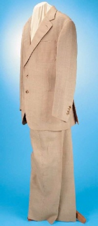 The suit, as seen on the Christie's auction page.