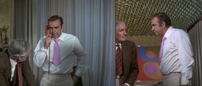 God help a Bond movie when Q is dressed better than 007.