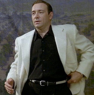 Kevin Spacey as Sgt. Jack Vincennes in L.A. Confidential (1997).