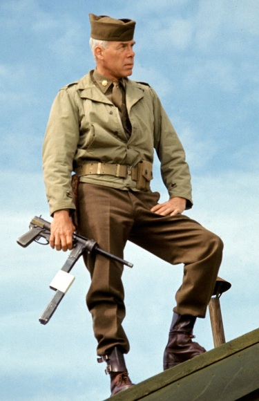Lee Marvin as Maj. John Reisman in The Dirty Dozen (1967).