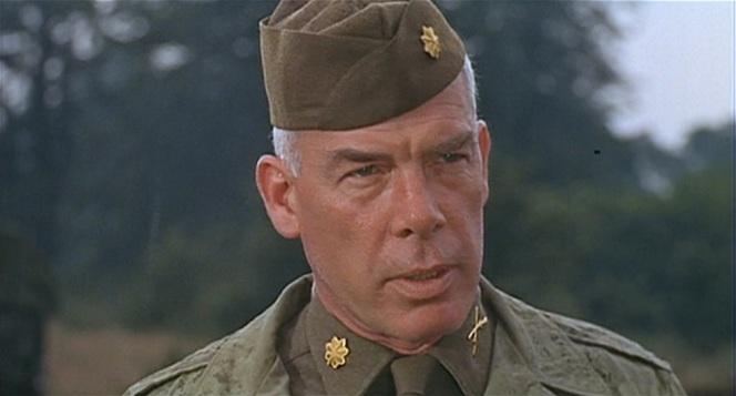 That's Major Reisman to you, buddy.