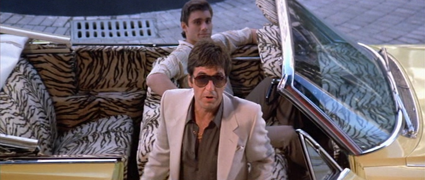 Scarface Tony S Tan Suit And Cadillac Bamf Style