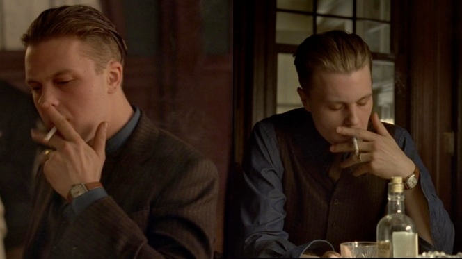 "Jimmy's watch is best seen during his times of tobacco-assisted reflection in ""A Dangerous Maid"" (2.03)."