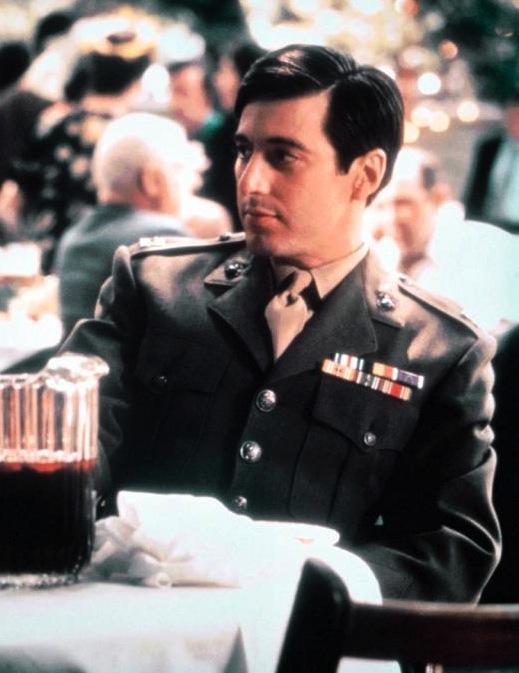 Capt Michael Corleone Usmc Bamf Style