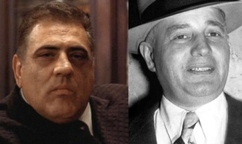Luca Brasi and Willie Moretti.