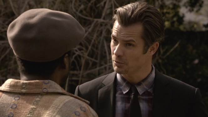 Even Raylan is surprised to see Doug E. Doug returning to acting.