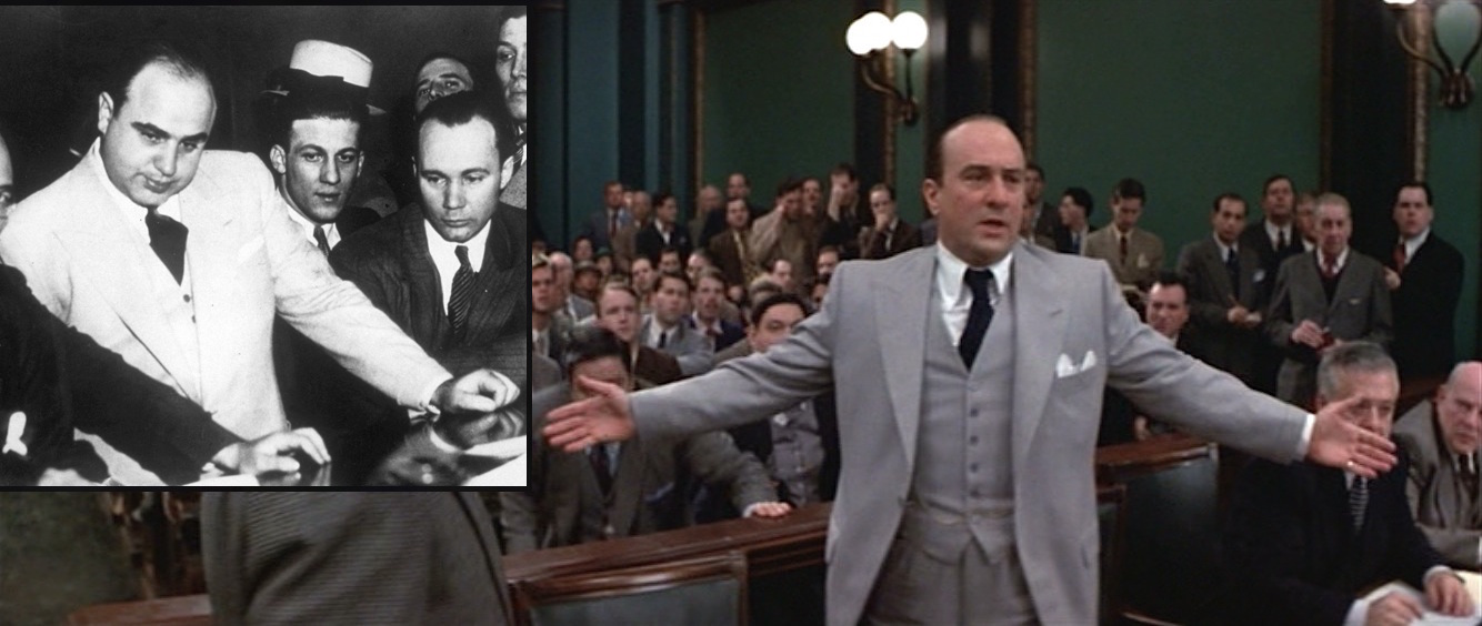 The Untouchables: Capone's Gray Suits | BAMF Style