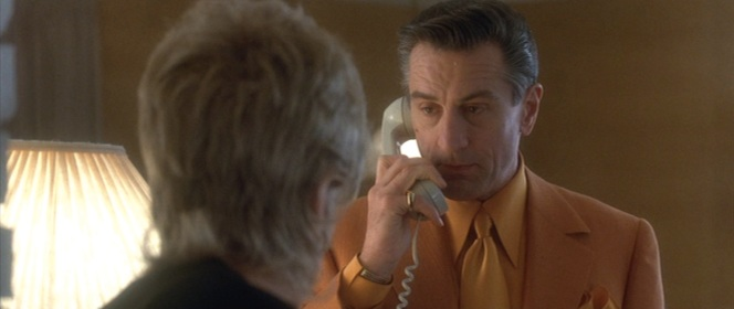 I bet The De Niro Look even scares people over the phone.