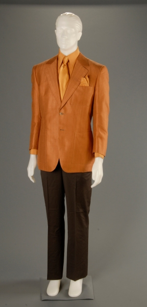 Ace's costume, as photographed at the Harry Ransom Center at UT Austin.