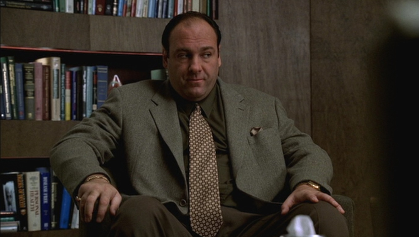 The Sopranos Tonys Tan Flannel Sportcoat Bamf Style