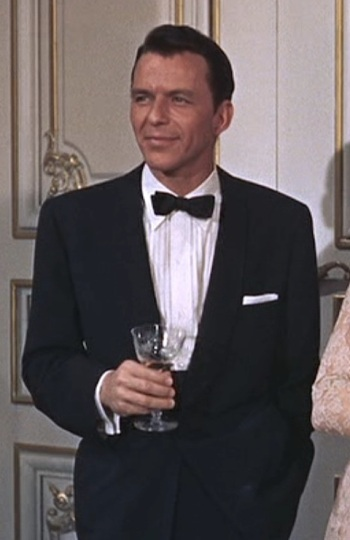 Frank Sinatra as Mac Connor in High Society (1956).