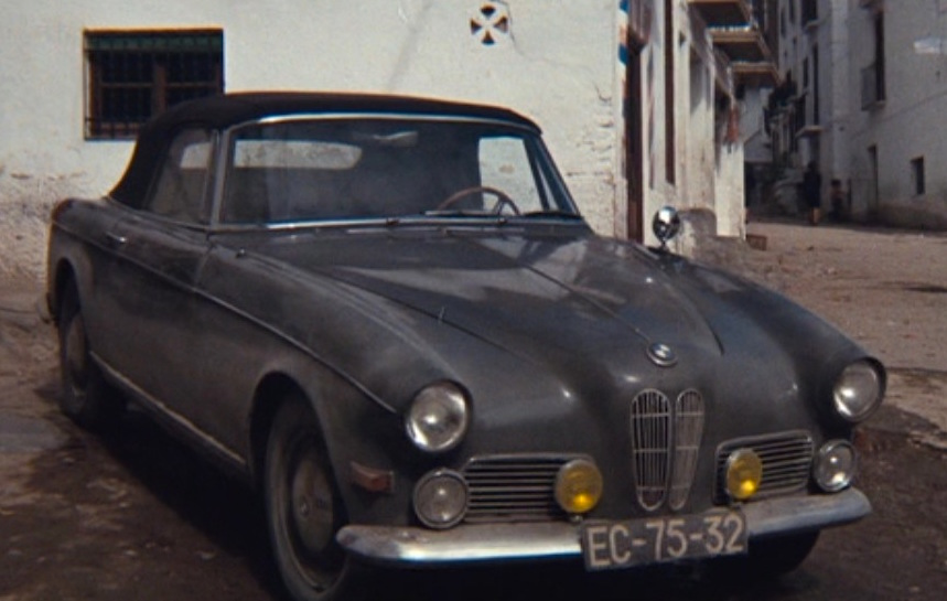 The Last Run: Harry\'s Leather Jacket and BMW 503 | BAMF Style