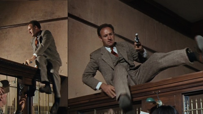 Hackman channels Dillinger channeling Fairbanks.