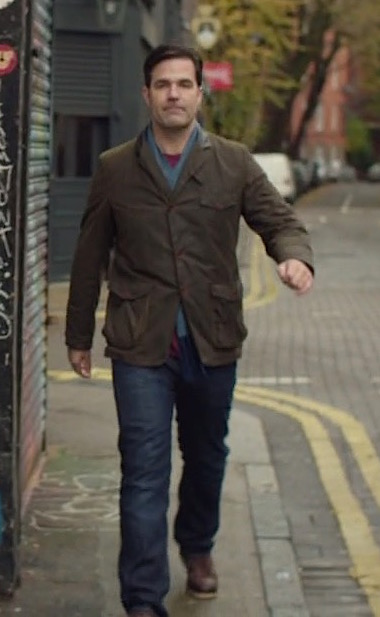 Rob Delaney S Barbour Jacket On Catastrophe Bamf Style