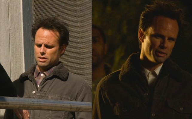 "The jacket makes a brief return in ""Save My Love"" (Episode 2.07) and ""The Spoil"" (Episode 2.08)."
