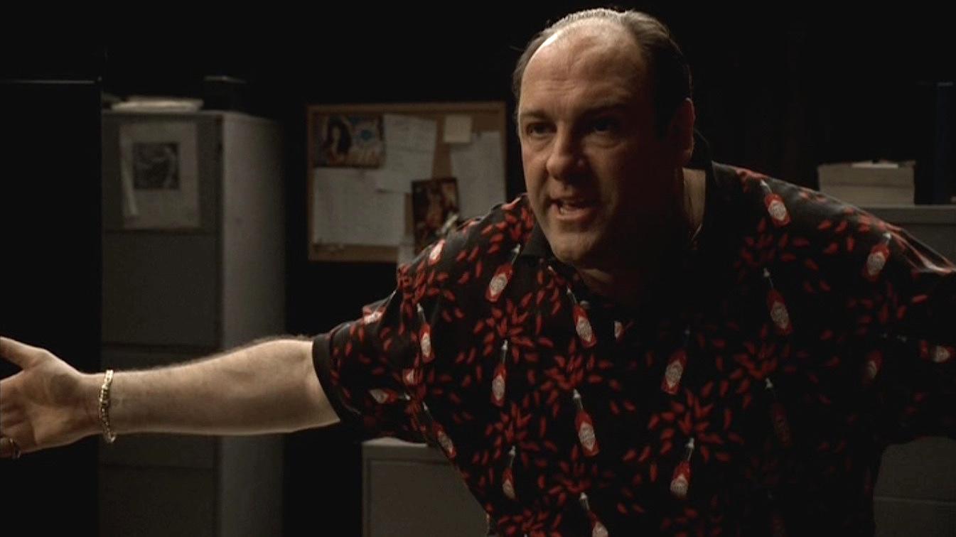 Tony Sopranos Tabasco Sauce Polo Bamf Style