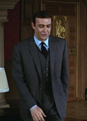 Sean Connery as James Bond in Thunderball (1965).