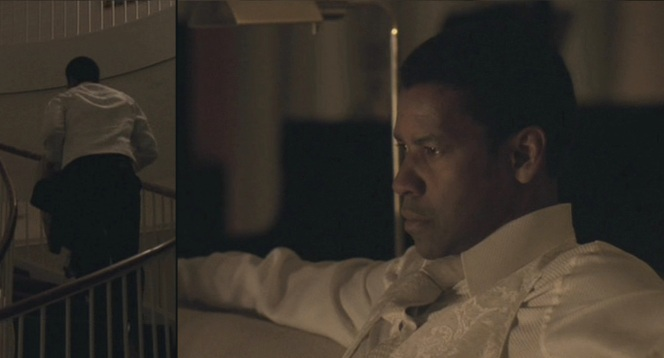 Frank's mysterious white silk vest...