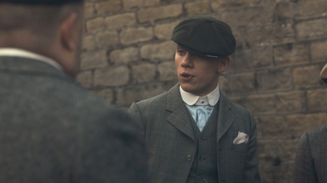 Once a Peaky Blinder, always a Peaky Blinder.