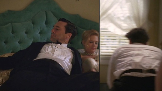 A telltale sign that someone is rich? He sleeps in a cummerbund.