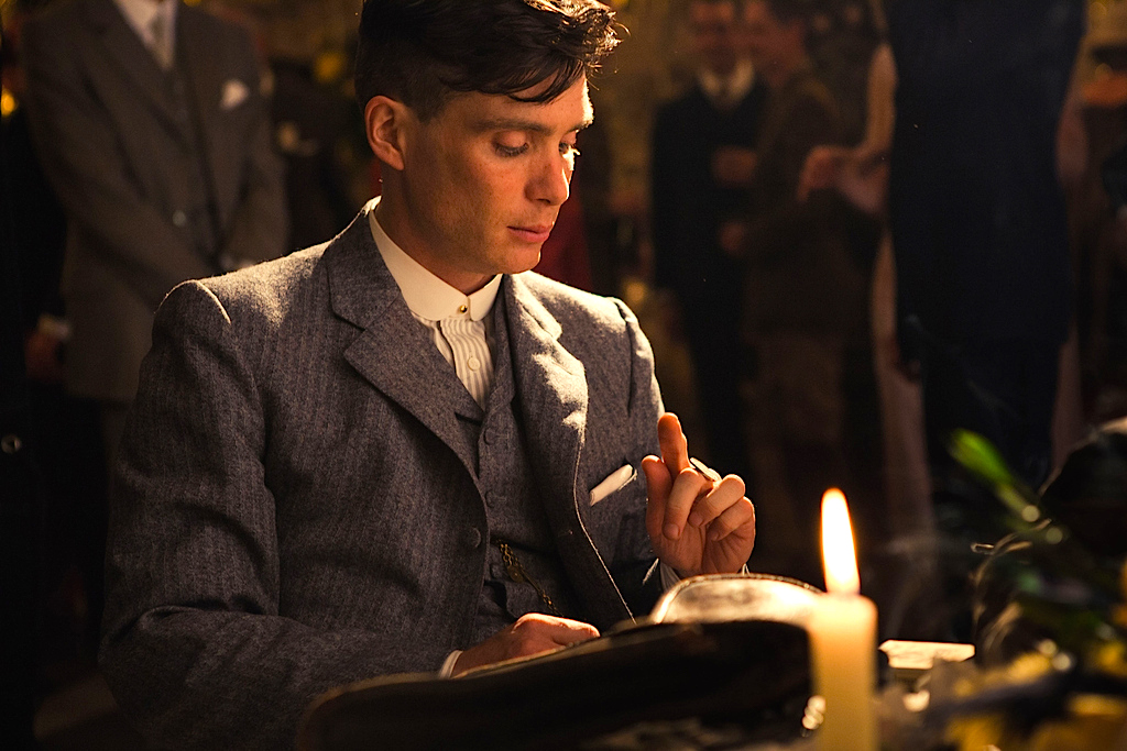 c09c2f5ea36 A promotional still of Cillian Murphy on Peaky Blinders.