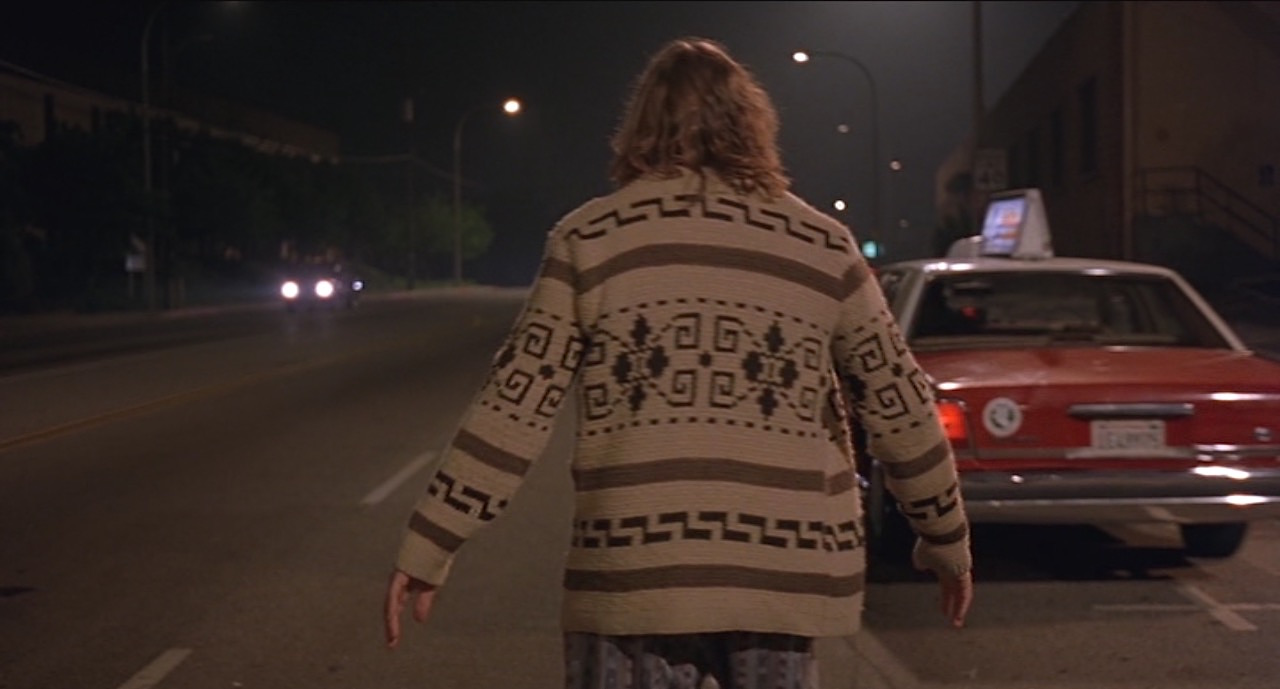 18f9972d5929 The Cowichan knit pattern is best seen while The Dude is aimlessly  wandering the streets of