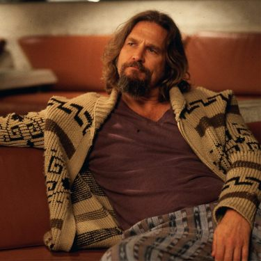 "Jeff Bridges as ""The Dude"" in The Big Lebowski (1998)."