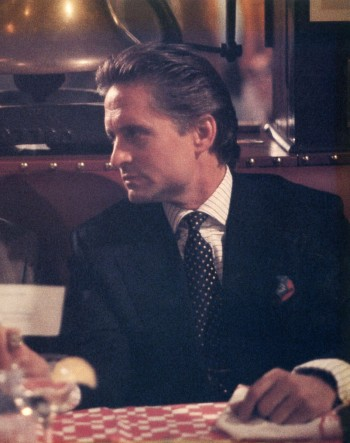 Michael Douglas as Gordon Gekko in Wall Street (1987).