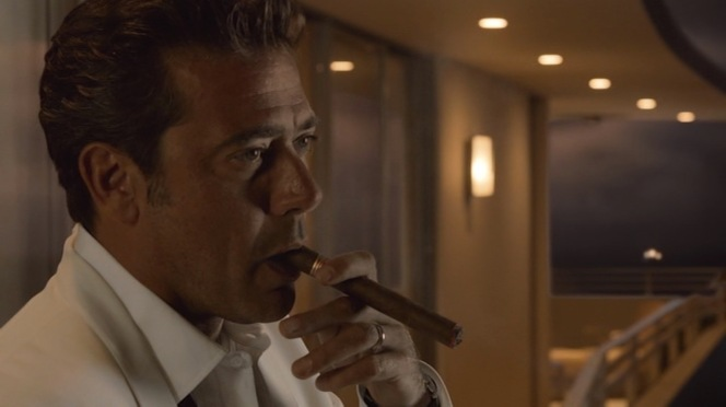 Thanks to Eric, who confirmed that the preferred cigars of Ike and all of Magic City's smokers are Partagás from Havana.