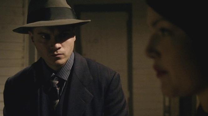 "Clyde wears one of his ""brushstroke"" ties during the Hillsboro burglary."