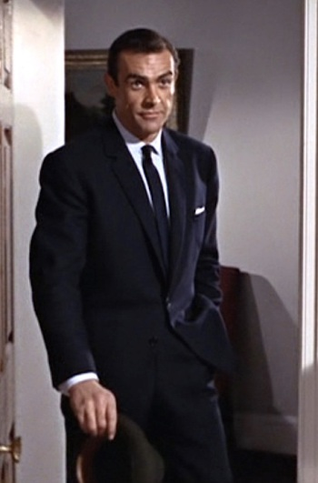 Sean Connery as James Bond in From Russia With Love (1963).