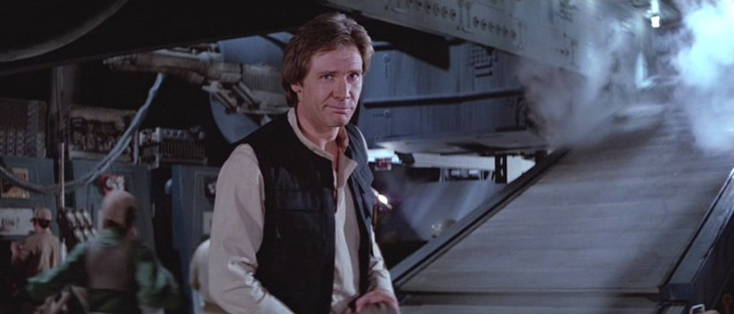 The Harrison Ford smirk was perfected by 1983.