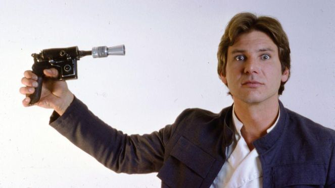 An honest representation of Harrison Ford's feelings about the character.