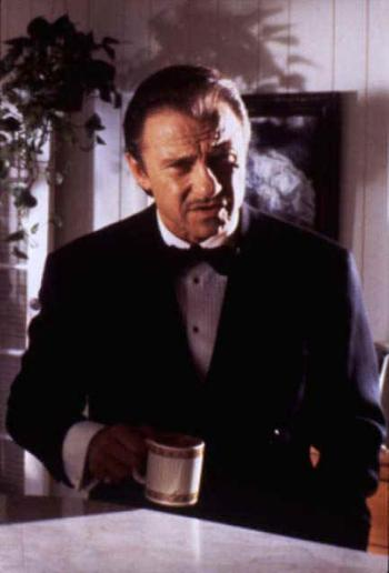 Harvey Keitel as Winston Wolf in Pulp Fiction (1994).
