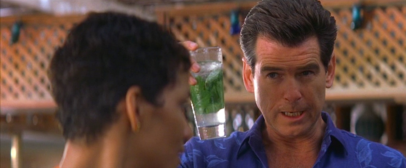 7eedb0e981bcc Bond s Blue Hawaiian Shirt in Die Another Day