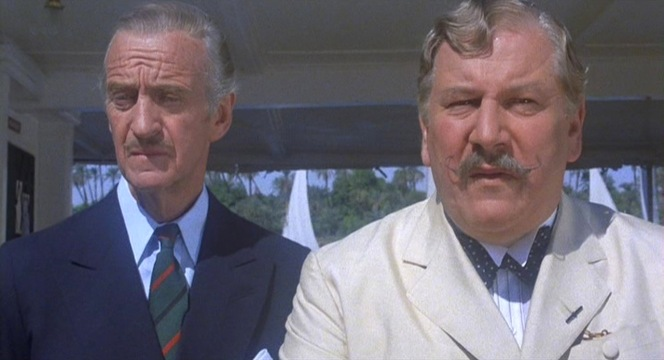Race and Poirot are left to consider the effect of the triple murder they've just solved together.