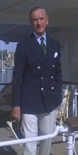 David Niven as Colonel Race in Death on the Nile (1978).